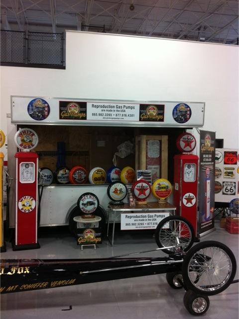 Retro Gas Show Displays