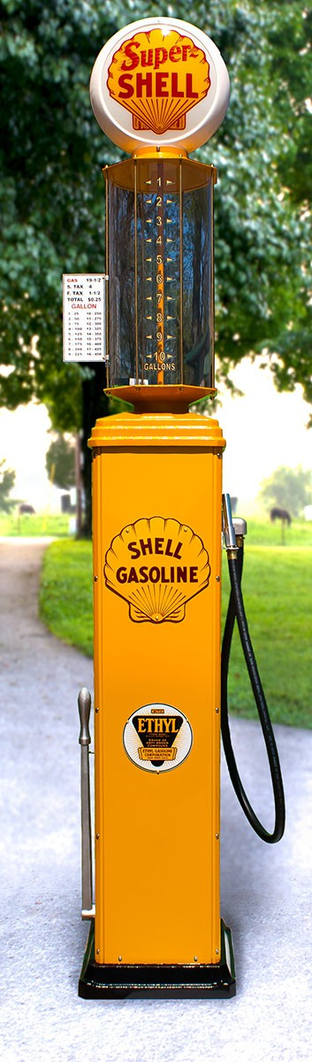 Full Visible Gas Pump Replica