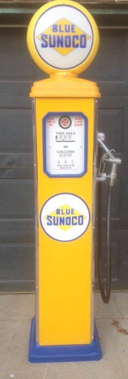 Photo ID 8411 // Blue Sunoco - Yellow