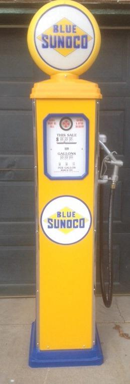 Blue Sunoco - Yellow