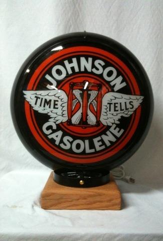 Black Johnson Globe Light